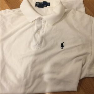Polo Ralph Lauren White Short Sleeve Polo